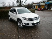 USED 2013 63 VOLKSWAGEN TIGUAN 2.0 MATCH TDI BLUEMOTION TECH 4MOTION DSG 5d 139 BHP