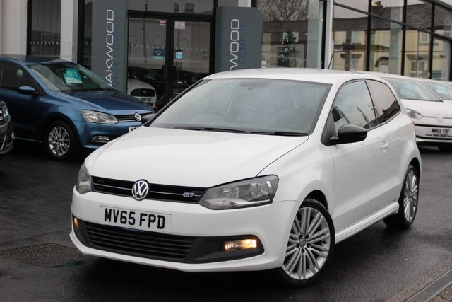 USED 2015 65 VOLKSWAGEN POLO 1.4 TSI BlueMotion Tech ACT BlueGT (s/s) 3dr