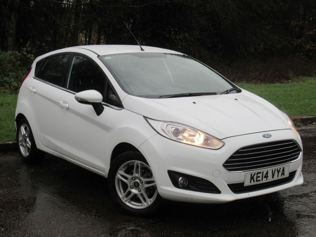 USED 2014 14 FORD FIESTA 1.2 ZETEC 5d 81 BHP LOW MILEAGE POPULAR FAMILY HATCHBACK