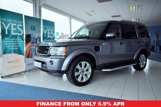 2013 13 LAND ROVER DISCOVERY 4 3.0 4 SDV6 HSE 5d 255 BHP