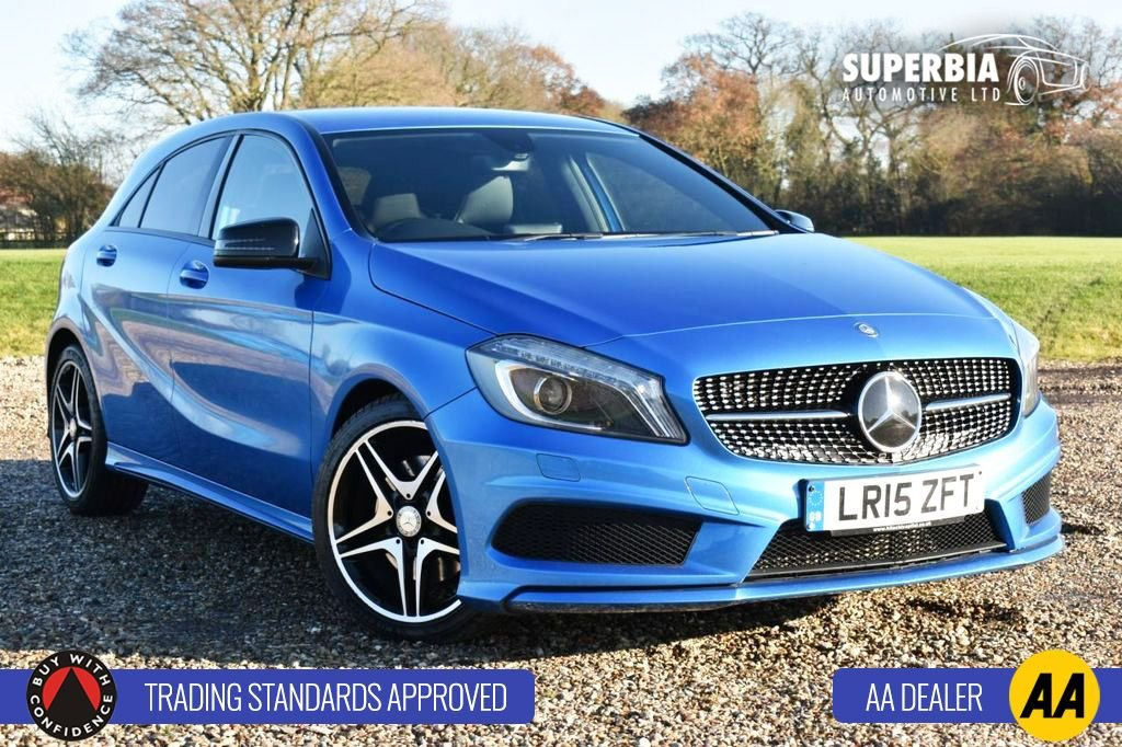 USED 2015 15 MERCEDES-BENZ A CLASS 2.1 A220 CDI AMG NIGHT EDITION 5d 168 BHP
