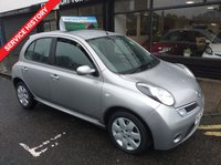 USED 2008 57 NISSAN MICRA 1.2 ACENTA 5d 80 BHP