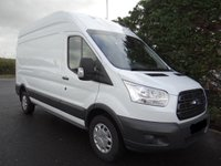 USED 2018 18 FORD TRANSIT 350 L3 H3 LWB HIGHTOP 2.0 TDCI 130 BHP EURO 6 One Company Owner 36000 Miles And Ford Warranty Till August 2021, Euro 6 / ULEZ Compliant, Very Clean Example!
