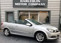 USED 2007 57 VAUXHALL ASTRA 1.8 TWIN TOP SPORT 3d 140 BHP