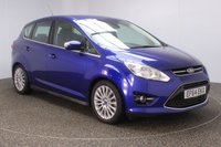 USED 2014 64 FORD C-MAX 1.6 T EcoBoost Titanium 5dr ++1.6 ECoBOOST TURBO ++ FULL SERVICE HISTORY + PARKING SENSOR + BLUETOOTH + CRUISE CONTROL + CLIMATE CONTROL + MULTI FUNCTION WHEEL + ELECTRIC WINDOWS + ELECTRIC/HEATED MIRRORS + 17 INCH ALLOY WHEELS
