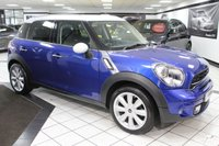 USED 2016 16 MINI COUNTRYMAN 2.0 COOPER SD CHILLI AUTO 141 BHP 1 LADY OWNER FMSH LTHR 18'S