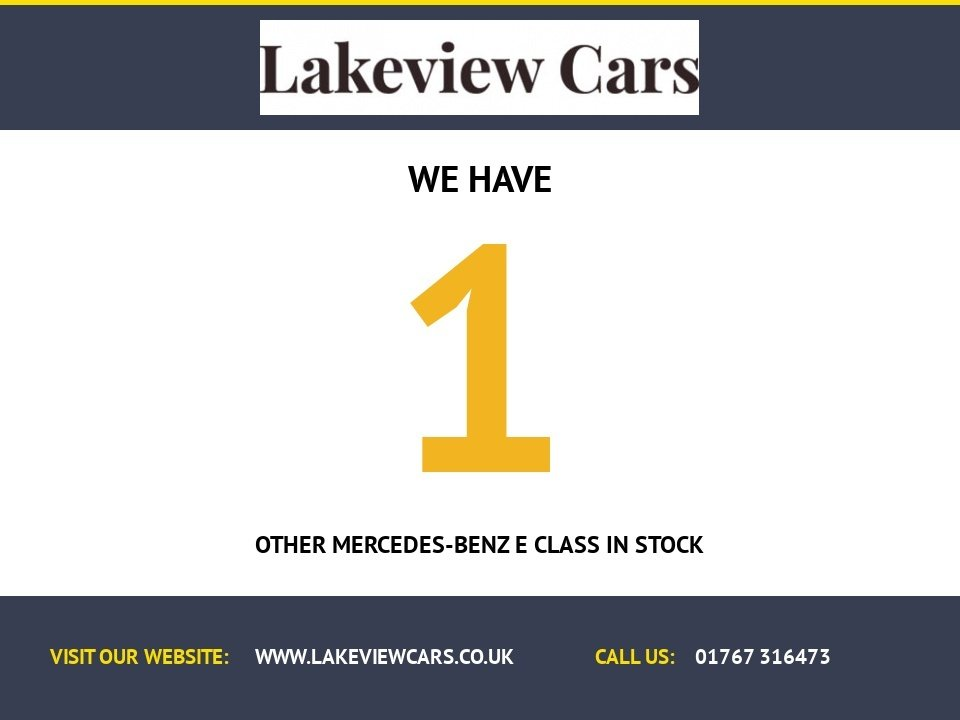 USED 2011 11 MERCEDES-BENZ E CLASS 3.0 E350 CDI BLUEEFFICIENCY SPORT 2d 231 BHP