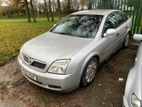 USED 2003 53 VAUXHALL VECTRA 1.8 LS 16V 5d 121 BHP MOT 01/20 SILVER WITH GREY CLOTH TRIM. 16 INCH ALLOY WHEELS. COLOUR CODED TRIMS. AIR CON. R/CD PLAYER. AGE/MILEAGE RELATED SALE. PART EXCHANGE CLEARANCE CENTRE - LS23 7FQ. TEL 01937 849492 OPTION 3