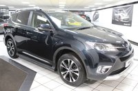 USED 2014 64 TOYOTA RAV4 2.2 D-4D INVINCIBLE 150 BHP STYLE PK LEATHER STEPS NAV CAM