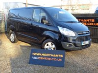 USED 2016 65 FORD TRANSIT CUSTOM 2.2 290 LIMITED L1H1 SWB 125 BHP  (TAILGATE)