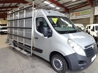 USED 2015 15 VAUXHALL MOVANO 2.3 F3500 L3H2 P/V CDTI 134 BHP LWB GLASS FRAIL / GLASS CARRIER VAN - AA DEALER PROMISE - TRADING STANDARDS APPROVED -