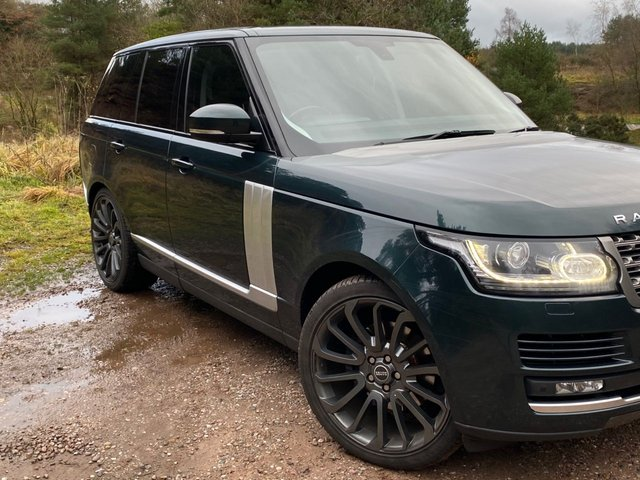 "USED 2013 53 LAND ROVER RANGE ROVER 3.0 TDV6 VOGUE 5d 258 BHP 22"" GREY Autobiography Alloys"