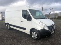 2015 RENAULT MASTER MM35 BUSINESS PLUS 2.3 DCI 125 MWB PANEL VAN £8995.00