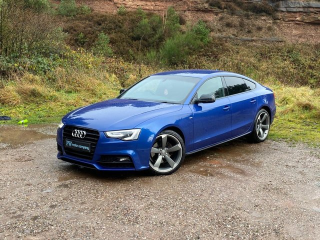 USED 2016 66 AUDI A5 2.0 TDI BLACK EDITION PLUS 5d 187 BHP 1 OWNER THE BEST COLOUR sepang blue SATNAV/B&O/LEATHER/FSH