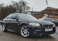 USED 2013 13 BMW 5 SERIES 2.0 520D M SPORT 4d 181 BHP SERVICE RECORD + BLUETOOTH + PARKING SENSORS