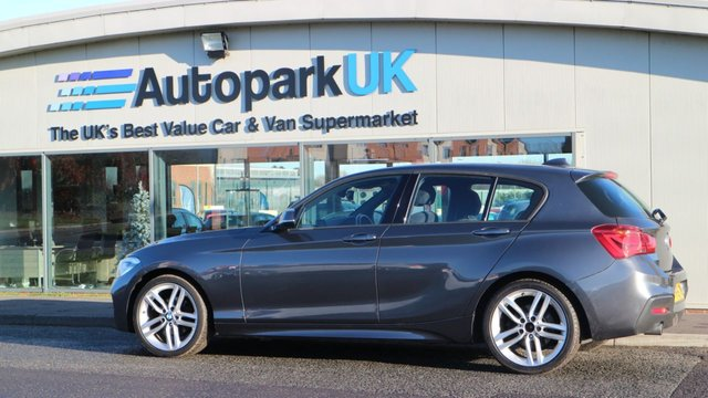 USED 2016 16 BMW 1 SERIES 1.5 116D M SPORT 5d 114 BHP LOW DEPOSIT OR NO DEPOSIT FINANCE AVAILABLE