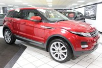 USED 2012 62 LAND ROVER RANGE ROVER EVOQUE 2.2 SD4 PURE AUTO 190 BHP FULL HEATED LEATHER MERIDIAN!