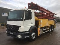 USED 2005 05 MERCEDES-BENZ AXOR  2628 36 METRE PUTZMEISTER MOBILE CONCRETE PUMP