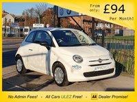 2016 FIAT 500 1.2 POP 3d 69 BHP £5495.00