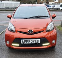 USED 2012 12 TOYOTA AYGO 1.0 VVT-I FIRE MM AC 5d 67 BHP AUX MEDIA CONNECTION, FSH!