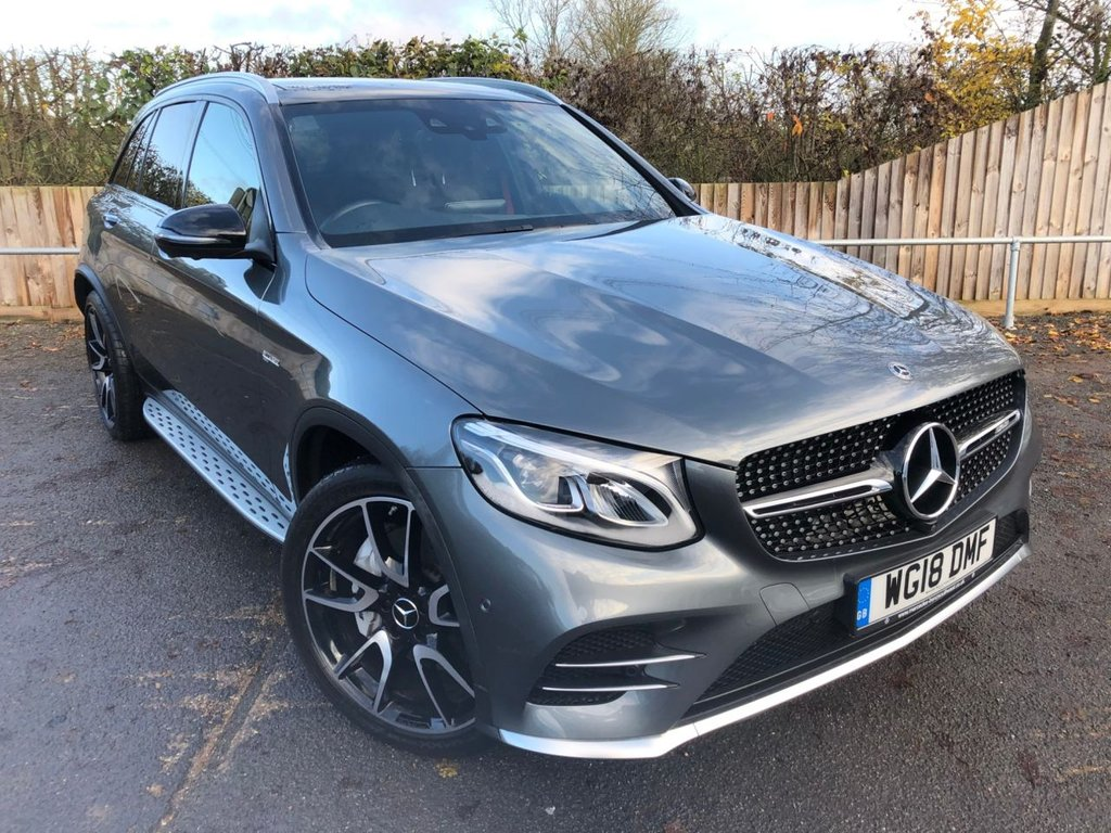 USED 2018 18 MERCEDES-BENZ GLC-CLASS 3.0 AMG GLC43 4MATIC PREMIUM PLUS (362 BHP)
