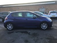 USED 2012 12 PEUGEOT 208 1.4 ACTIVE 5d 95 BHP