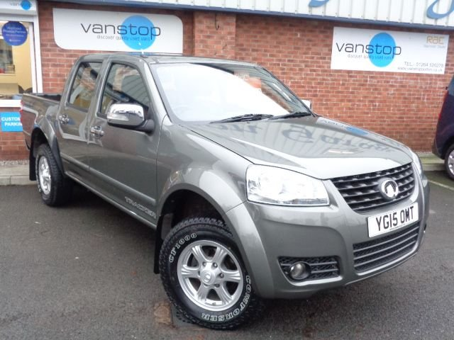 USED 2015 15 GREAT WALL STEED 2.0 TD TRACKER 4X4 DCB 137 BHP
