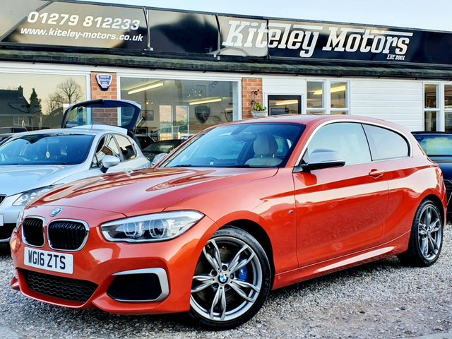 2016 16 BMW 1 SERIES M135i MANUAL