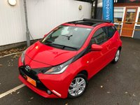 USED 2016 16 TOYOTA AYGO 1.0 VVT-I X-PRESSION 5d X-WAVE 69 BHP RETRACTABLE ROOF, FUNROOF