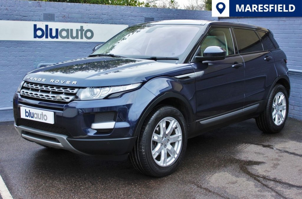 USED 2013 63 LAND ROVER RANGE ROVER EVOQUE 2.2 SD4 PURE TECH 5d 190 BHP Beautiful Cream Interior, Massive Specification, 1 Owner, Full LR History , Tow Bar.......