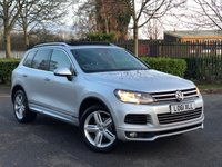 USED 2012 61 VOLKSWAGEN TOUAREG 3.0 V6 ALTITUDE TDI BLUEMOTION TECHNOLOGY 5d 242 BHP