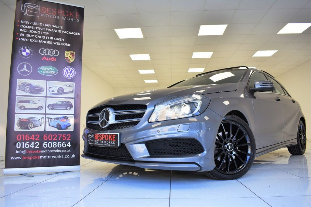 USED 2014 64 MERCEDES-BENZ A CLASS A200 2.1 CDI AMG SPORT