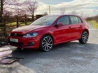 2015 VOLKSWAGEN GOLF Golf 1.6tdi Match, DSG Auto tiptronic  £9395.00