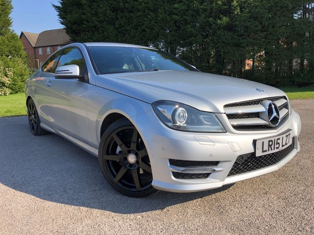 USED 2015 15 MERCEDES-BENZ C-CLASS 2.1 C220 CDI AMG SPORT EDITION 2d 168 BHP