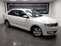 USED 2017 66 SKODA RAPID 1.6 SE TDI 5d 114 BHP + 1 FORMER KEEPER + 2 KEYS
