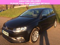 USED 2016 65 VOLKSWAGEN POLO 1.0 SE 3d 60 BHP 1 OWNER | DAB | ALLOYS | AC |