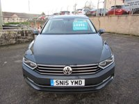 2015 VOLKSWAGEN PASSAT 1.6 SE BUSINESS TDI BLUEMOTION TECHNOLOGY 5d 130 BHP £8995.00