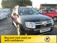 USED 2013 13 DACIA DUSTER 1.5 LAUREATE DCI 5d 107 BHP FULL SERVICE HISTORY ALLOYS CD AIRCON