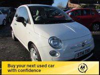 USED 2014 14 FIAT 500 1.2 POP 3d 69 BHP LOW ROAD TAX EXCELLENT MPG