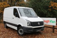 USED 2012 62 VOLKSWAGEN CRAFTER 2.0 CR30 TDI SWB LOW ROOF AIR CON Air Conditioning, Parking Sensors, Bluetooth