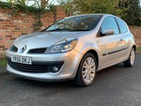 USED 2006 56 RENAULT CLIO DYNAMIQUE S 16V 3 OWNERS, GREAT SERVICE HISTORY, 7 SERVICES, 1YR MOT, EXCELLENT CONDITION,  IDEAL 1ST CAR, ALLOYS, RADIO CD, E/WINDOWS, R/LOCKING, FREE WARRANTY, FINANCE AVAILABLE, HPI CLEAR, PART EXCHANGE WELCOME,