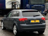USED 2006 06 AUDI A3 2.0 TFSI S line Special Edition Sportback 5dr Milteks/RevoInduction/Leathers