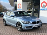USED 2013 63 BMW 1 SERIES 1.6 116I SPORT 5d 135 BHP 1695.00 BMW OPTIONAL EXTRAS