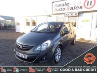 USED 2014 64 VAUXHALL CORSA 1.2 EXCITE 3d 83 BHP GOOD AND BAD CREDIT SPECIALISTS! APPLY TODAY!