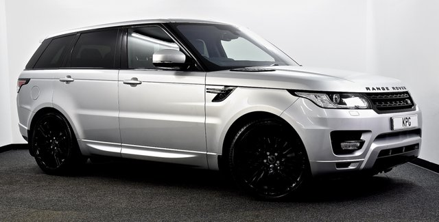 "USED 2015 65 LAND ROVER RANGE ROVER SPORT 3.0 SD V6 HSE 4X4 (s/s) 5dr Pan Roof, Black Pack, 22""s ++"