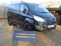 USED 2013 63 FORD TRANSIT CUSTOM 2.2 270 LIMITED L1H1 SWB 125 BHP  *NO VAT*