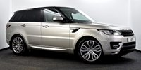 """USED 2016 66 LAND ROVER RANGE ROVER SPORT 3.0 SD V6 HSE CommandShift 2 4X4 (s/s) 5dr Pan Roof, 21""""s, Colour Coded +"""