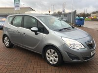 USED 2011 60 VAUXHALL MERIVA 1.4 EXCLUSIV 5d 98 BHP JUST ARRIVED AWAITING PHOTOS AND VIDEO AND WAITING TO BE CLEANED NEED ANYMORE INFORMATION PLEASE GIVE US A CALL ON 01536 402161