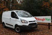 USED 2015 65 FORD TRANSIT CUSTOM 2.2 290 100PS SWB Bluetooth, Roof Bars With Ladder Roller