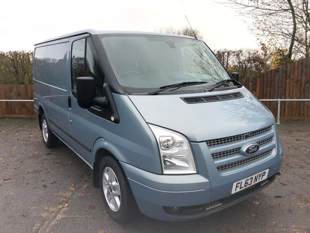 USED 2013 63 FORD TRANSIT 2.2TDCI T260 SWB LIMITED